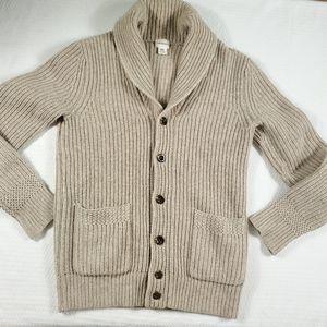 Club Monaco Lambswool Knit Cardigan Sweater XS